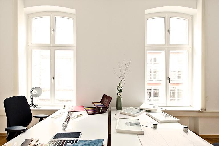 Bürofenster Nachher